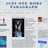 Pump Up Your Book Blog Host Spotlight: Just One More Paragraph