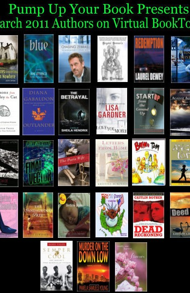Pump Up Your Book's March 2011 Authors on Virtual Book Tour – Day 16