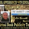 Pump Up Your Book Presents The Barrett Company Hollywood Virtual Book Publicity Tour March 2012 + Kindle Fire Giveaway
