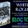 Who's on #BlogTour Today? WHITE ROGUE Visits Queen of All She Reads