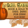 Pump Up Your Book Fall Special: Go for the Gold & Save!