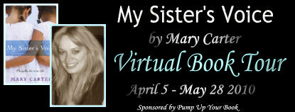 [PUYB Blog Tour&Review] My Sister's Voice by Mary Carter