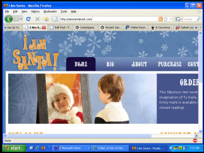 I am Santa website