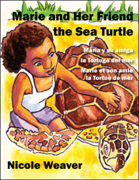 Marie and Her Friend the Sea Turtle cover