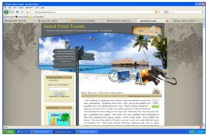 Island Chick Travels Screenshot