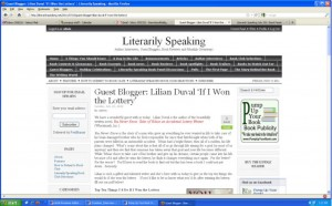Lilian Duval - Literarily Speaking