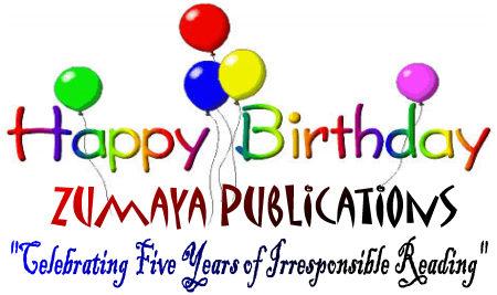 Happy Birthday Zumaya Publications