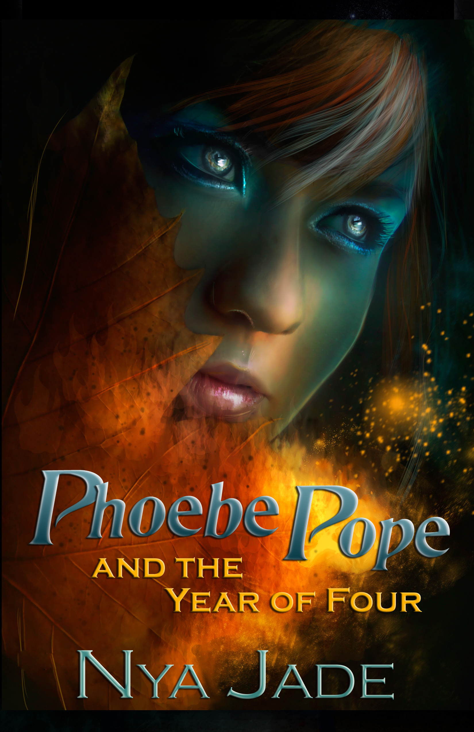 Phoebe Pope and the Year of Four cover