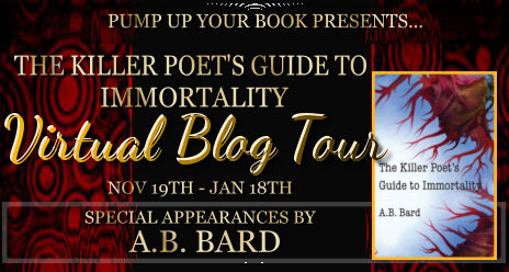 The Killer Poet's Guide to Immortality banner