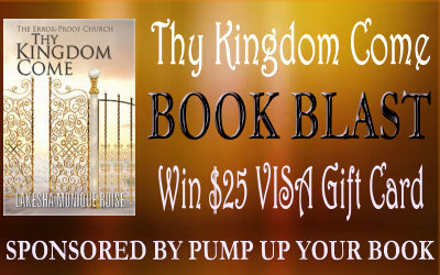 Thy Kingdom Come Book Blast banner