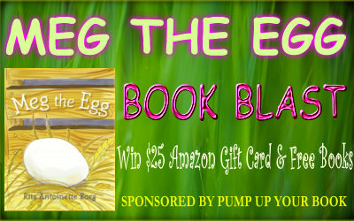 Meg the Egg banner