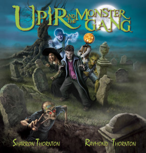 Upir and the Monster Gang Cover