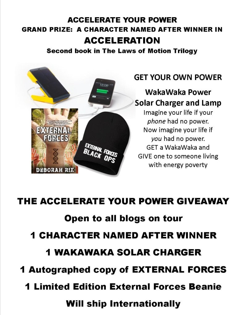 Blog Accelerate Your Power Giveaway