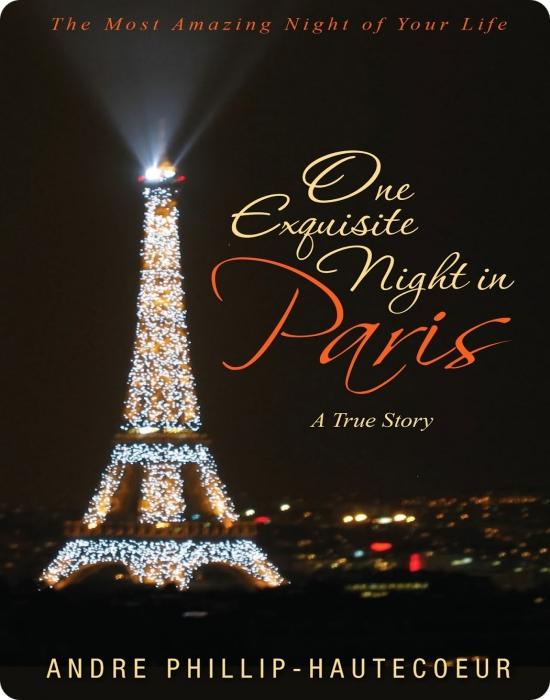 Contemporary romance one exquisite night in paris blog for Romantic evening in paris
