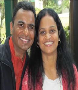 The husband and wife team of Kommuru Books