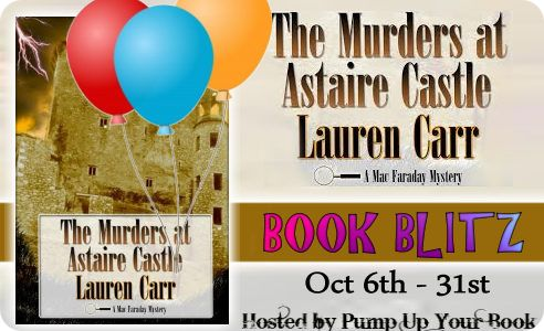 The Murders at Astaire Castle banner