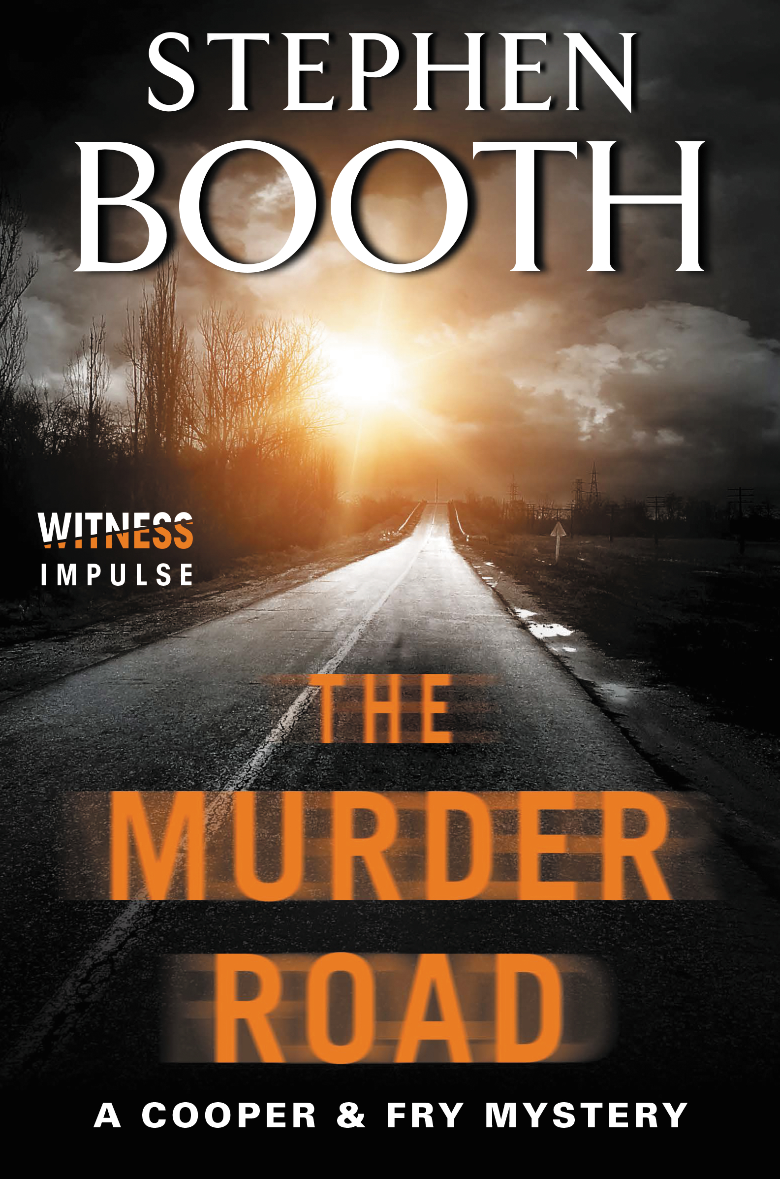 Cover art for The Murder Road