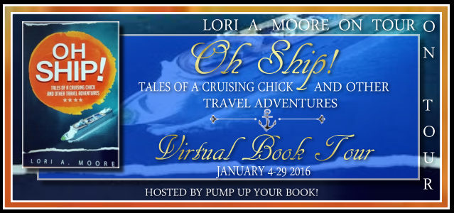 Pump Up Your Book Presents Oh Ship! Tales of a Cruising Chick and Other Travel Adventures Virtual Book Publicity Tour