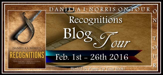 Pump Up Your Book Presents Recognitions Virtual Book Publicity Tour