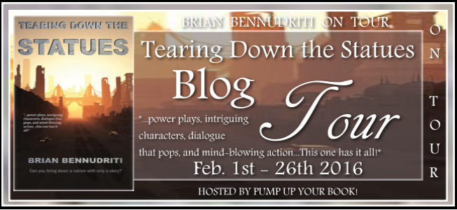 Pump Up Your Book Presents Tearing Down the Statues Virtual Book Publicity Tour