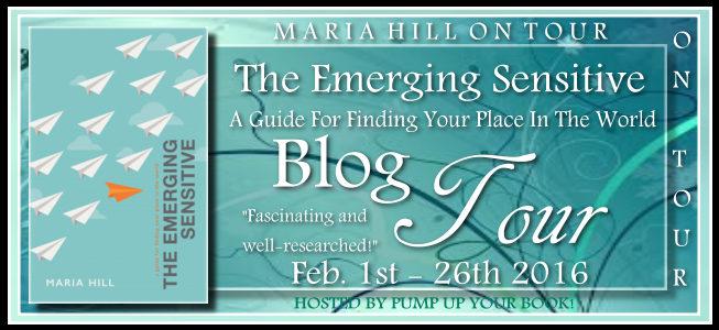 Pump Up Your Book Presents The Emerging Sensitive Virtual Book Publicity Tour