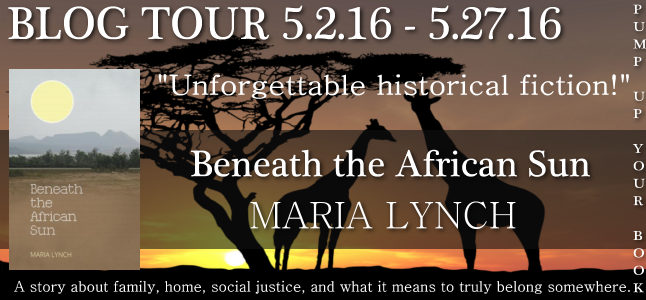 Pump Up Your Book Presents Beneath the African Sun Virtual Book Publicity Tour