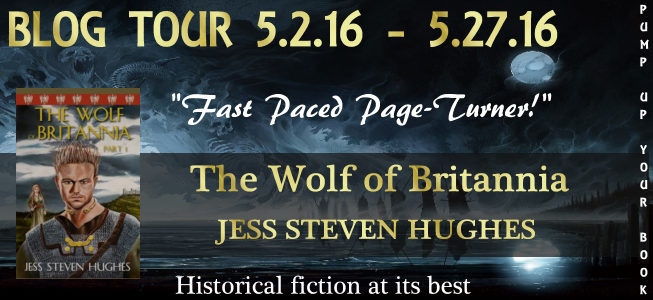 The Wolf of Britannia banner