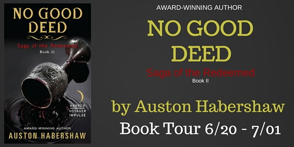 No Good Deed Book Banner