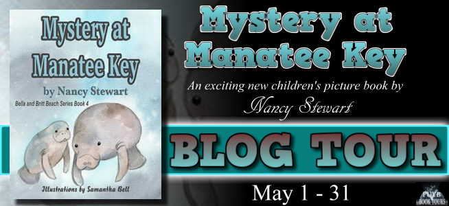 Mystery at Manatee Key banner blog tour