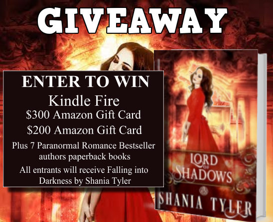 Lord of Shadows Giveaway