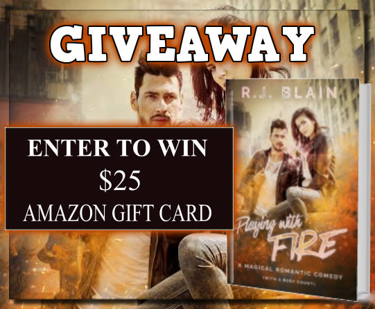 Playing With Fire Giveaway