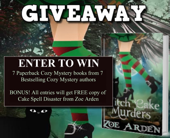 Witch Cake Murders Giveaway 2