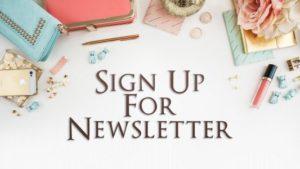 Addison Cole newsletter