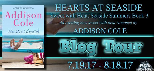 Hearts at Seaside