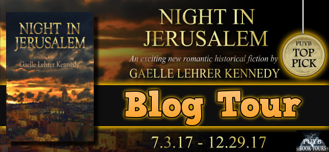 Night in Jerusalem Banner