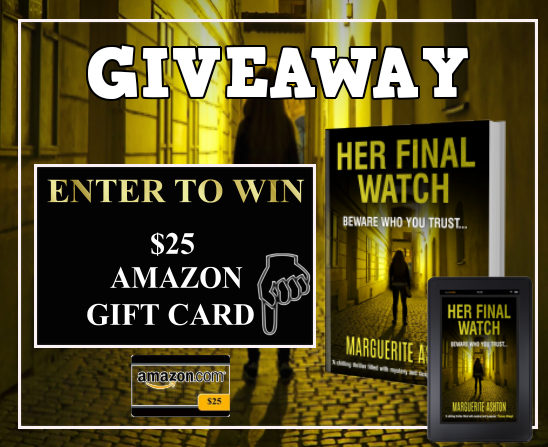 Her Final Watch Giveaway