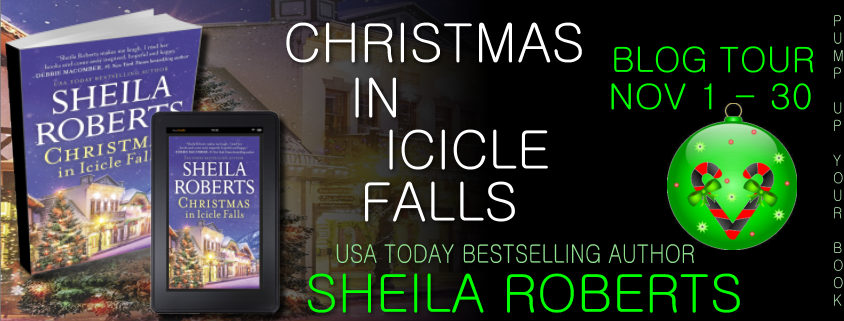 Christmas in Icicle Falls banner