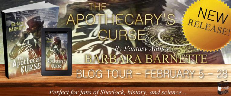The Apothecary's Curse banner