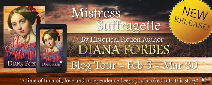 Mistress Suffragette banner