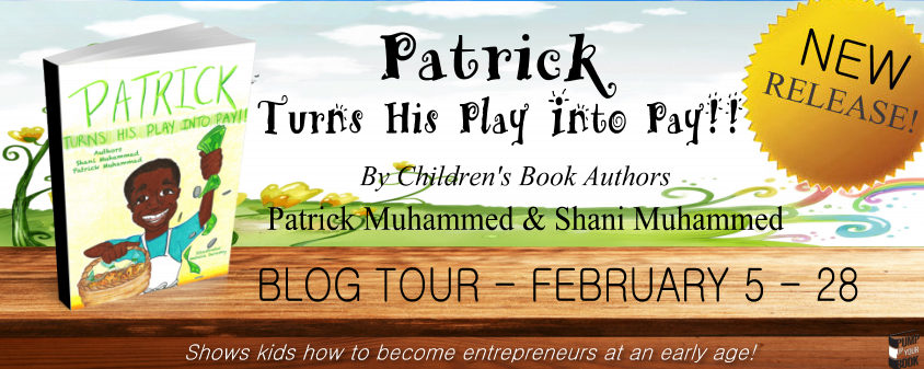 Patrick Turns His Play Into Pay banner