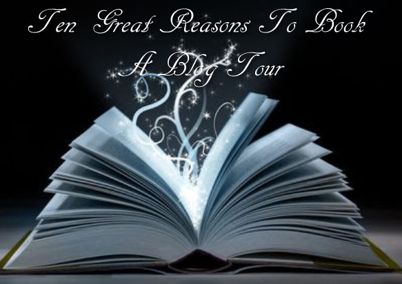 ten great reasons to book a blog tour