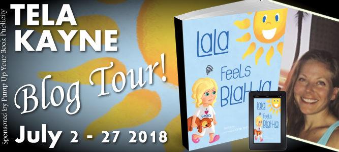 LaLa Feels Blah-La by Tela Kayne Book Tour Banner